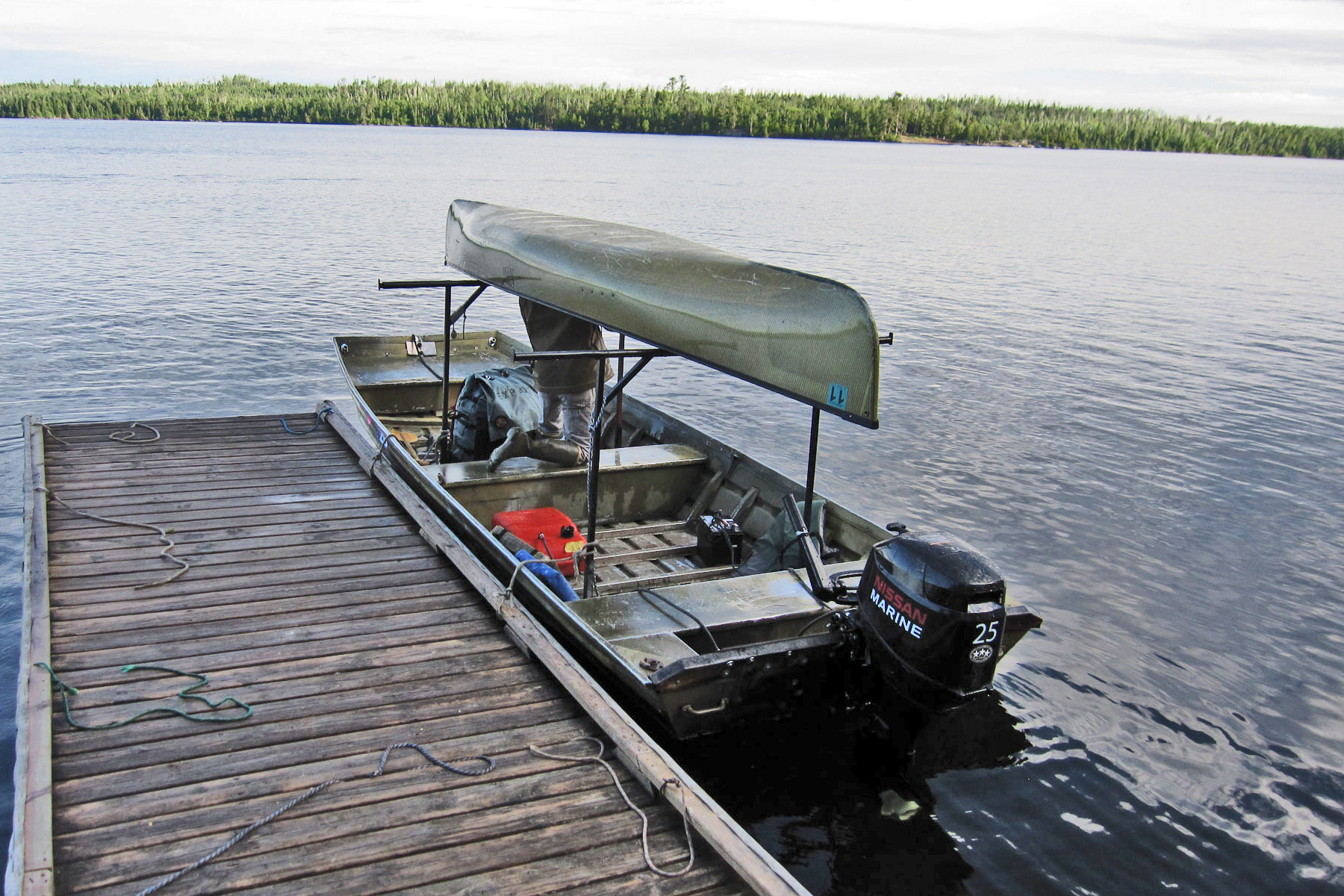 Towboat in the Boundary Waters by David Grant via Flickr