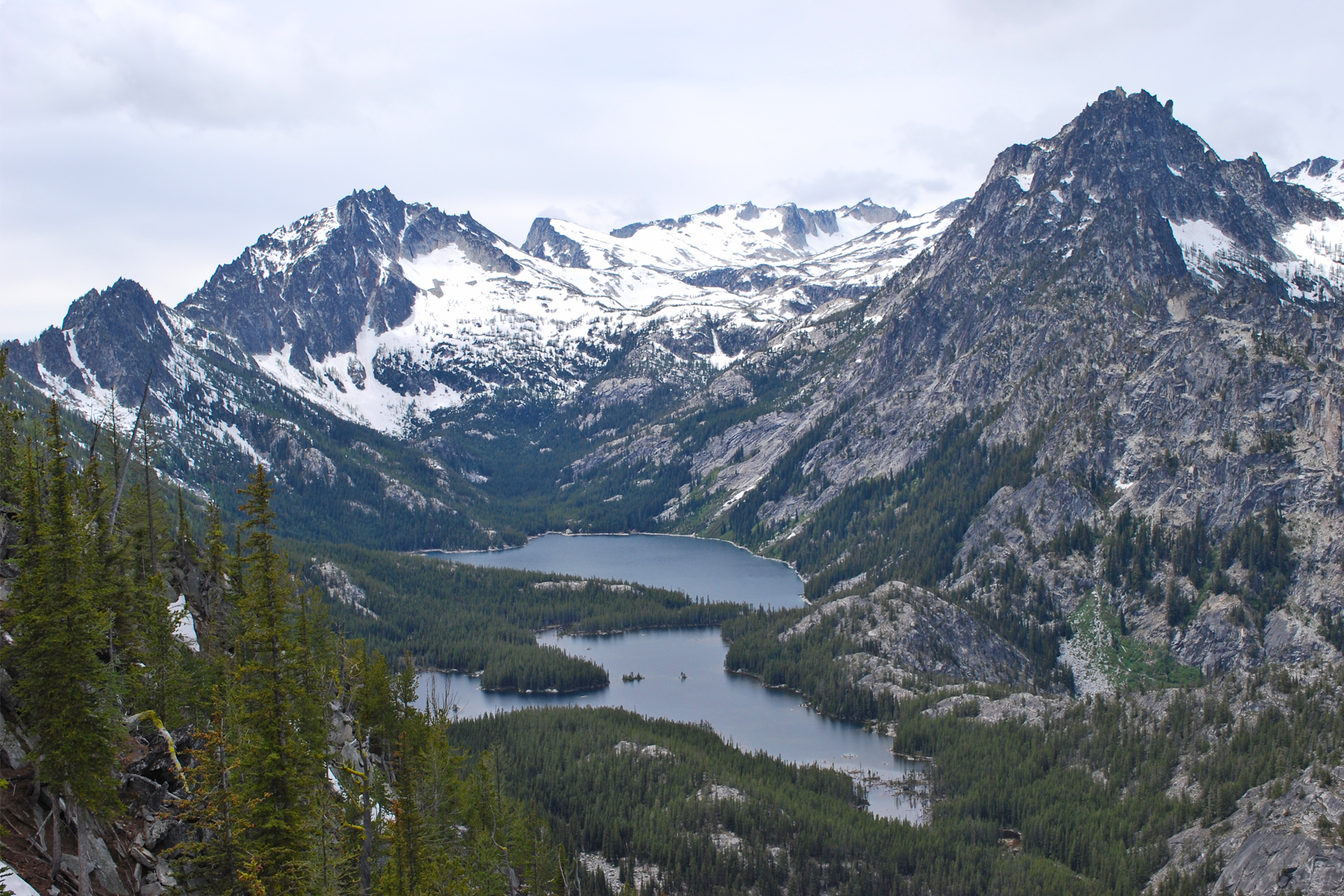 Alpine Lakes Wilderness by Karl Forsgaard